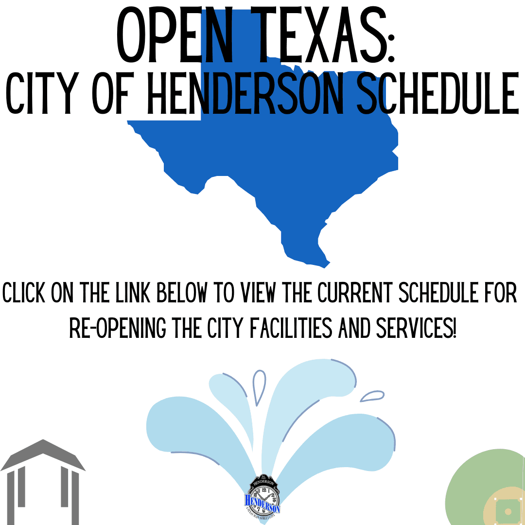 City Re-Opening Schedule
