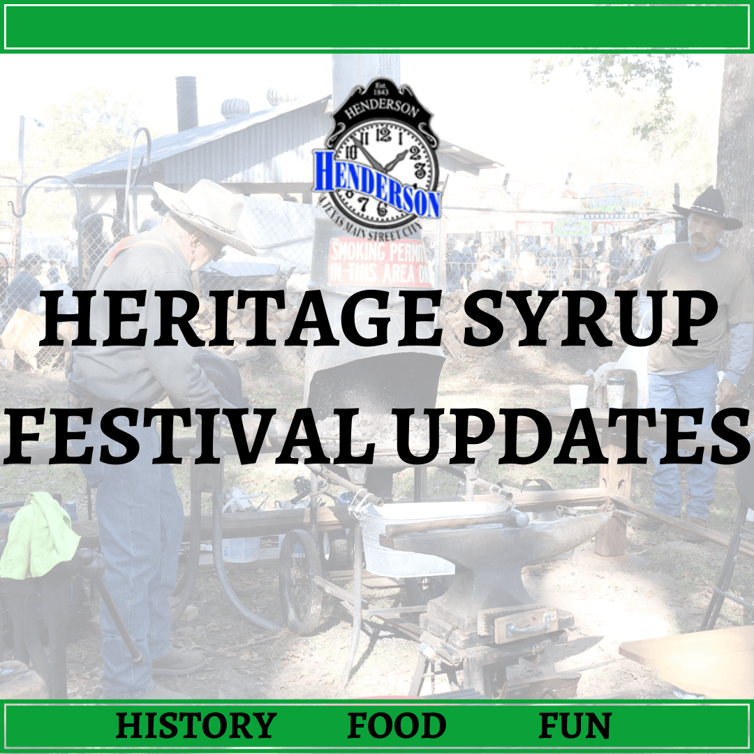 Heritage Syrup Festival - Update Page