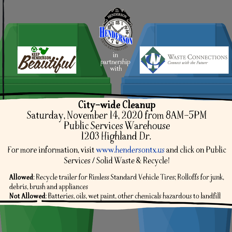 City-wide Cleanup 11-14-2020